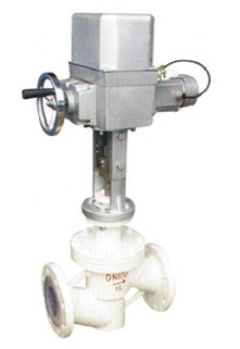ZRSF46电动衬氟调节阀