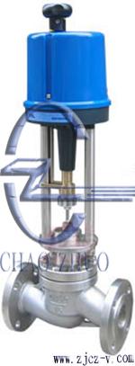 超卓牌ZDLP电子式电动单座调节阀