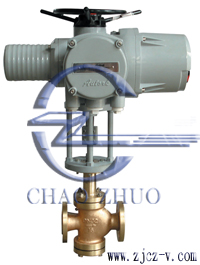 ZDLN电动氧气双座调节阀