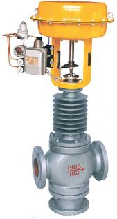 ZJHX型气动薄膜三通分流调节阀