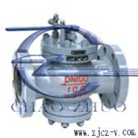 T40H手动给水回转调节阀
