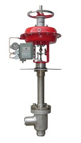 ZXSD气动薄膜低温角形单座调节阀