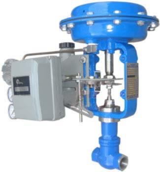 进口压缩空气电动调节阀