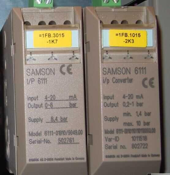 德国萨姆森SAMSON3345 型隔膜控制阀