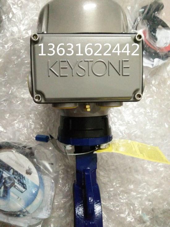 美国凯斯通F990电动调节防爆蝶阀