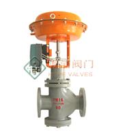 供应上海厚浦气动薄膜套筒导向型单座调节阀