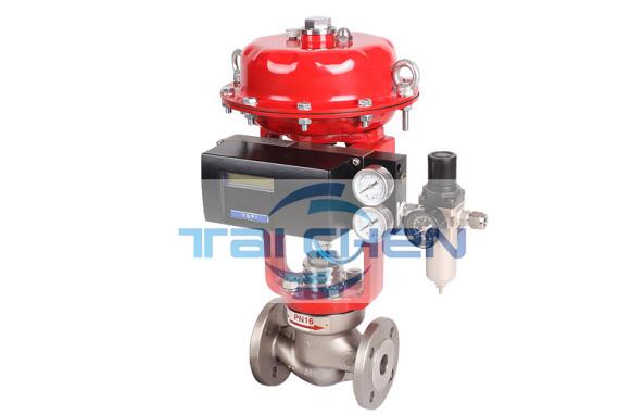 气动调节阀 ZJSJP气动薄膜单座调节阀