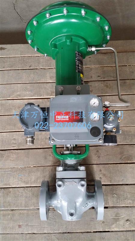 进口费希尔fisher 667-46执行器艾默生原厂气动调节阀执行机构