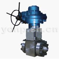 永鹏Q961Y电动高温高压锻钢球阀-上海永鹏机械有限公司