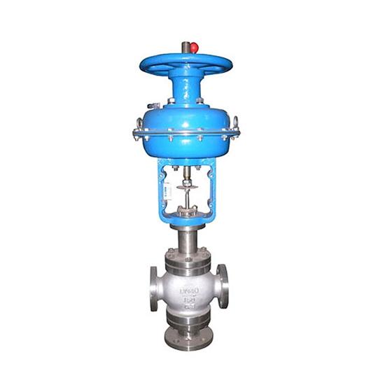 ZMAQ气动薄膜三通合流调节阀-上海泉享