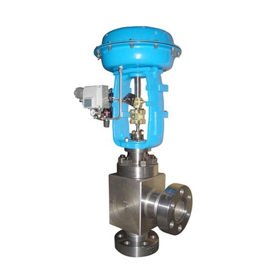ZMAS气动薄膜高压角型调节阀- 泉享阀门