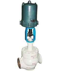 DHSC防爆电动笼式单座调节阀  上海泉享
